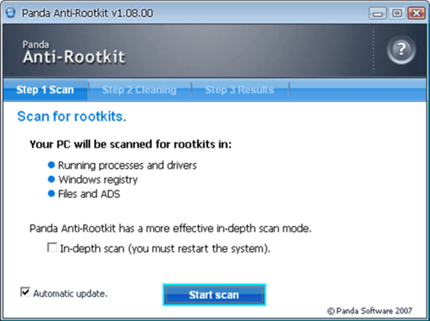 rootkit remover