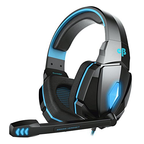 Best gaming headset Cosmic Byte Over the Ear Headsets with Mic