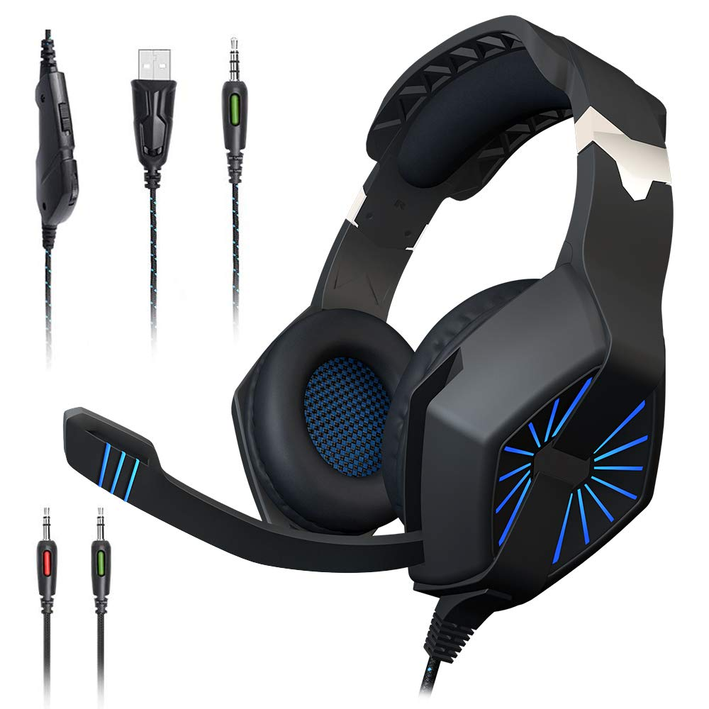 Best gaming headset Maono AU-A1 Gaming Headphones with Headset