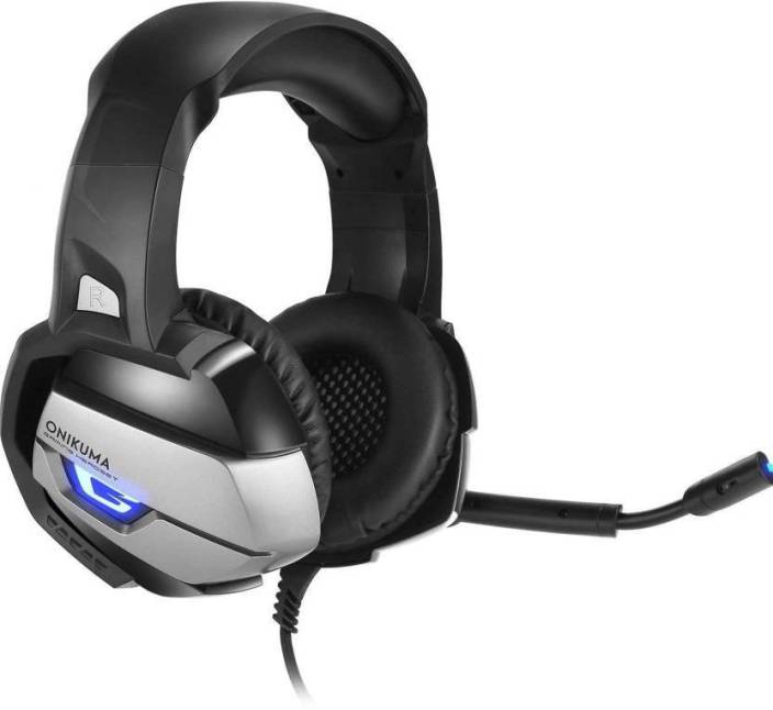 Best gaming headset Onikuma K5-N Gaming Headset with LED Lights