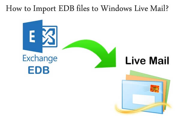 Import EDB to Windows live mail