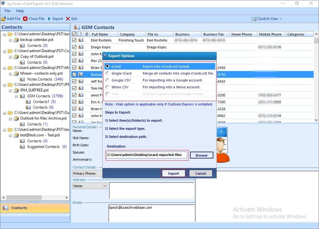 How to Import Outlook Contacts to Thunderbird Easily?